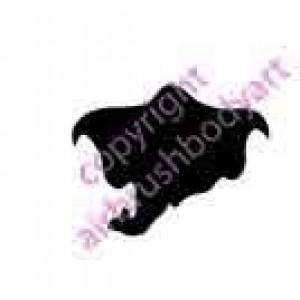 0260b elephant backing reusable stencil